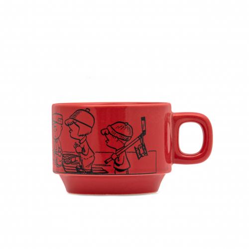 Red Peanuts Mug