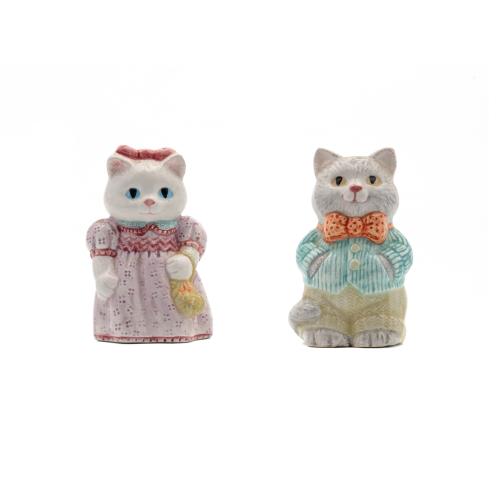 Ceramic Cat Shakers