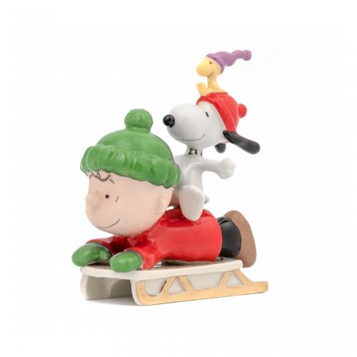Snoopy Sledding Adventure