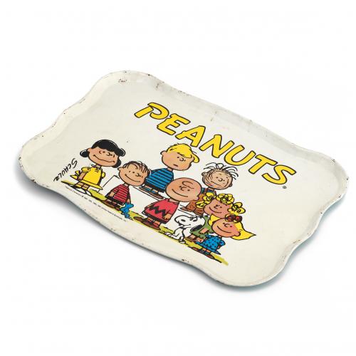 vintage Peanuts tray