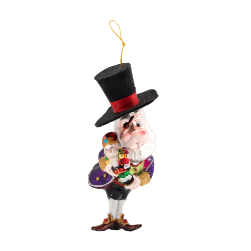 pirate santa ornament