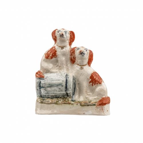 Staffordshire Spaniels Figurine
