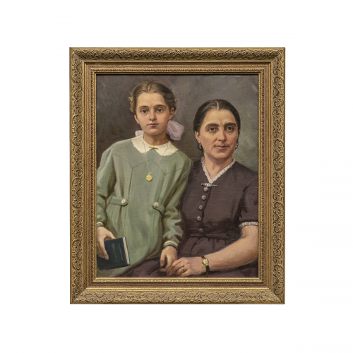 Russian Family Portrait Painting