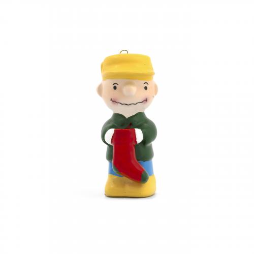 Japanese Vintage Charlie Brown Christmas Ornament