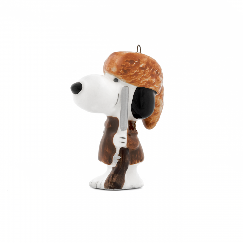 Daniel Boone Snoopy Christmas Ornament