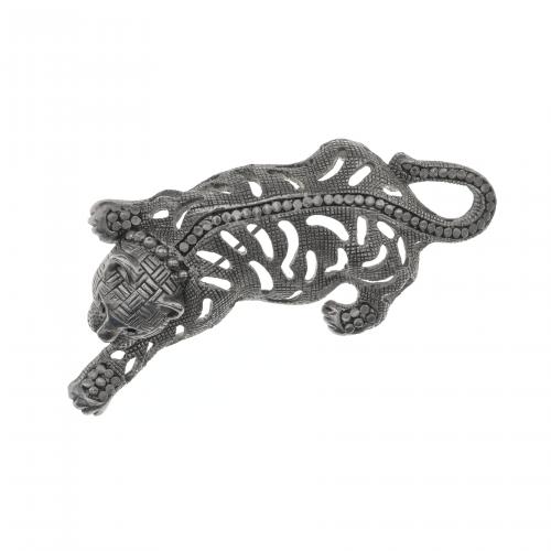 jungle cat brooch