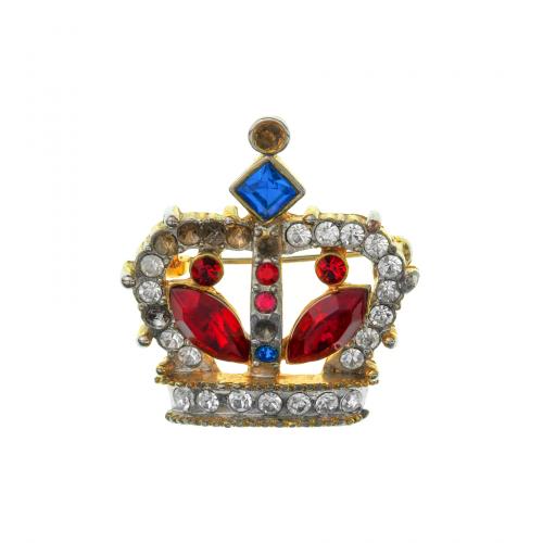 Vintage Crown Brooch