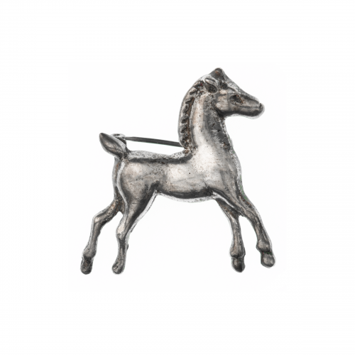 Sterling Horse Pin