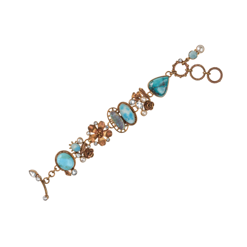 gemstone hardstone bracelet