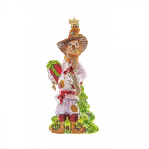 Scarecrow Christmas Ornament