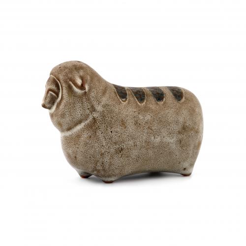 vintage ceramic sheep