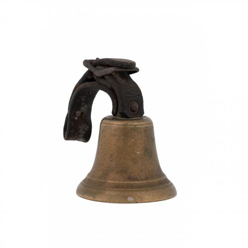 old sleigh handbell