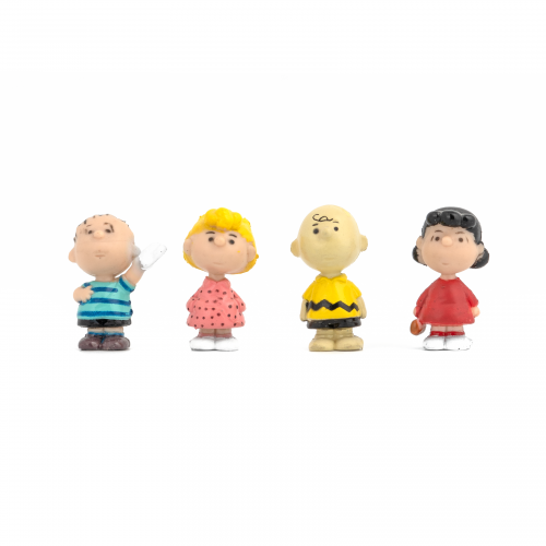 Miniature Peanuts Gang Figurines