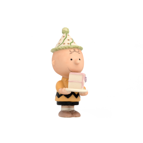 Lenox Charlie Brown Birthday Figurine