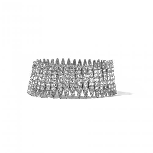 Rhinestone Flapper Bracelet