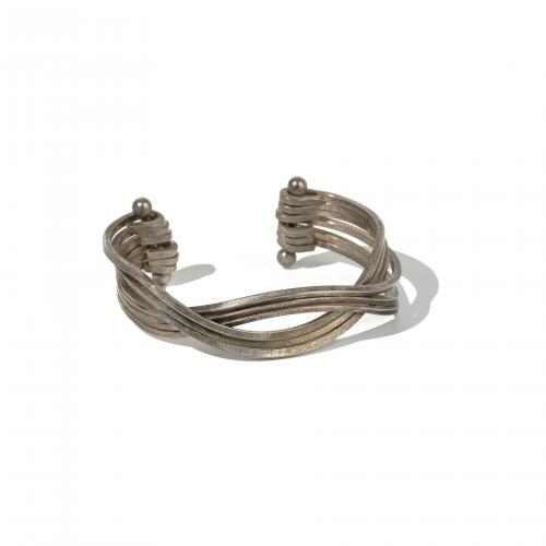 Vintage Silver Wire Cuff