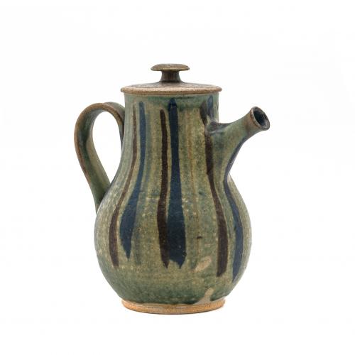 Vintage Art Pottery Coffee Pot