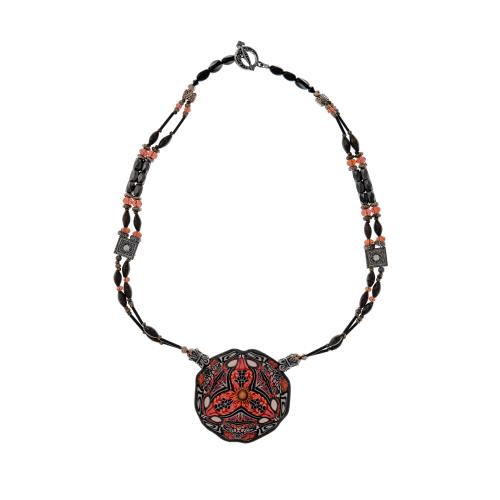 Bohemian Medallion Necklace