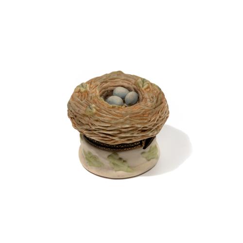 Birds Nest Ceramic Box