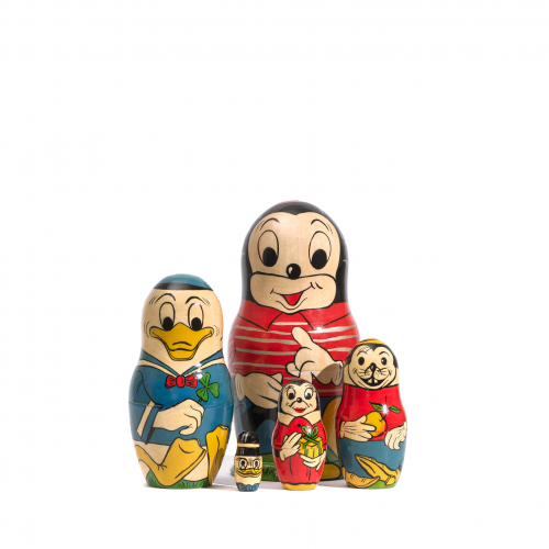 Mickey Mouse Nesting Dolls