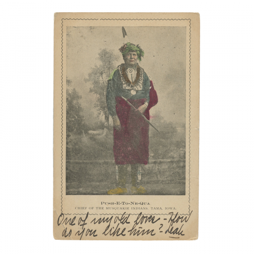 Chief of the Mesquakie Indians Postcard