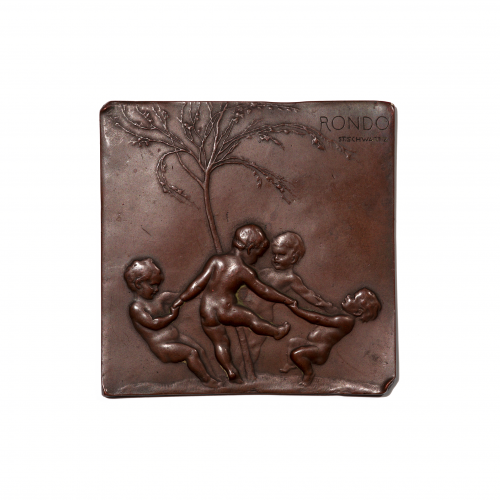 Austrian Bronze Plaquette