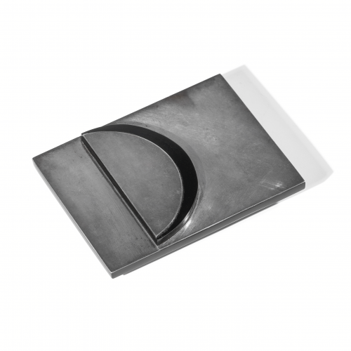 Art Deco Silver Belt Buckle