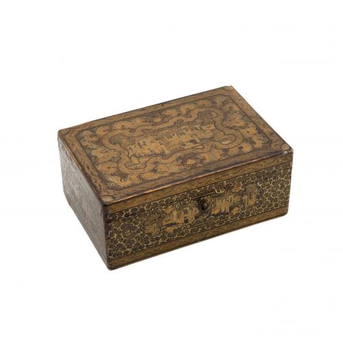 Chinese Export Document Box