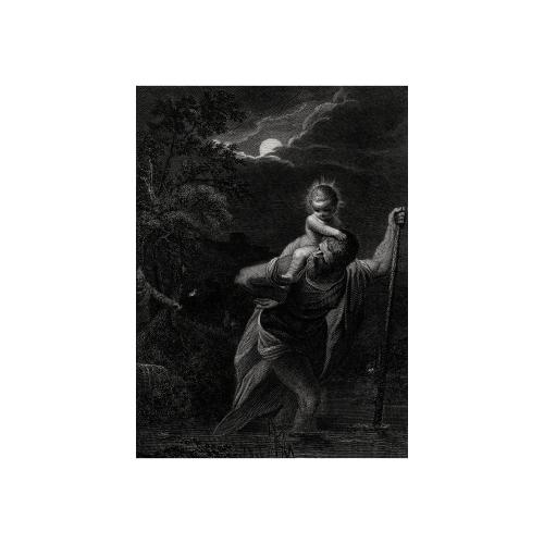 Saint Christopher Art Print