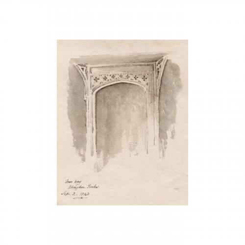 Abingdon Berkshire Drawing