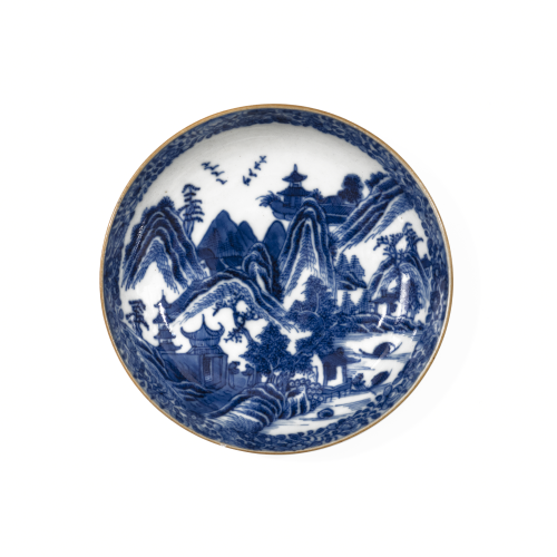 Blue and White Chinese Export Dish