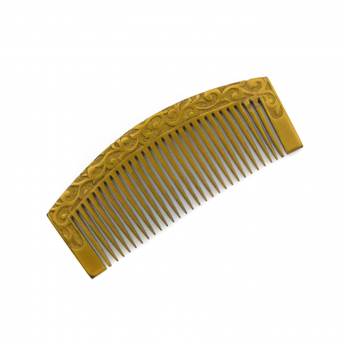 Japanese Gold Lacquer Comb
