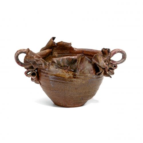 Stoneware Art Pottery Planter