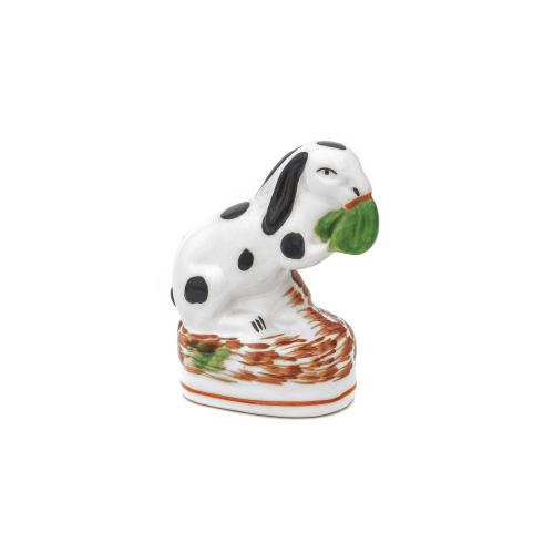 Staffordshire Rabbit Figurine