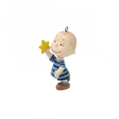 Linus Star Christmas Ornament