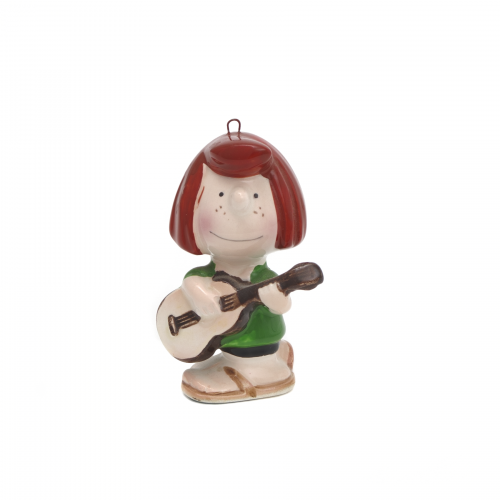 Lucy Peanuts Guitar Christmas Ornament