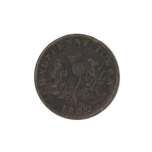 Half Penny Token 1832