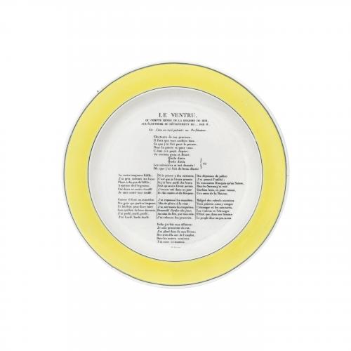Le Ventru French Decorative Plate