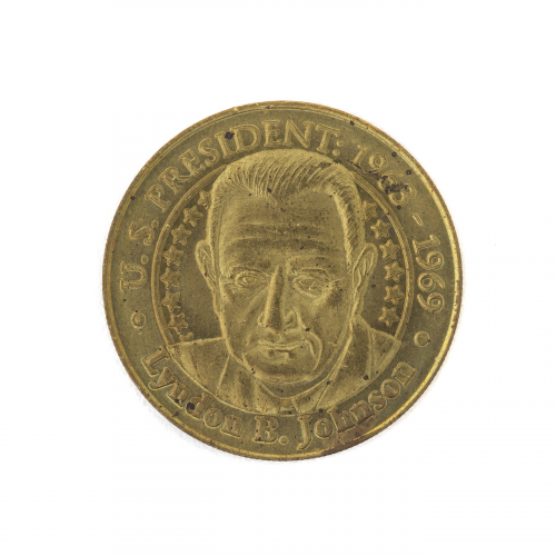 U.S. President Lyndon B. Johnson Collectible Novelty Coin