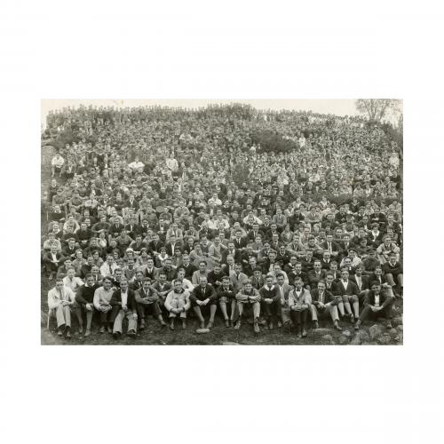 1920s Group Portrait Photograph