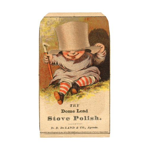 Top Hat Baby Trade Card
