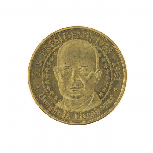 United States President Dwight D. Eisenhowser Collectible Coin