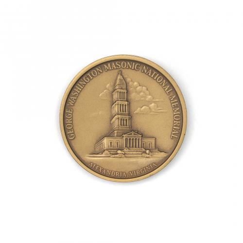 George Washington Masonic National Memorial Coin