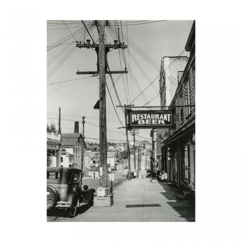 Walker Evans Street Photograph