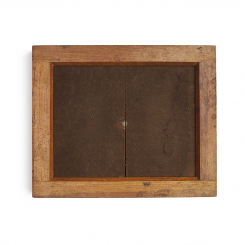 Rustic Antique Contact Printing Frame