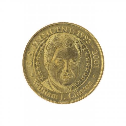U.S. President Bill Clinton Collectible Coin