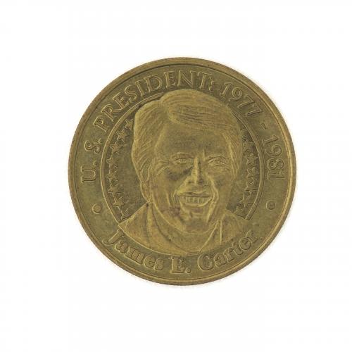 U.S. President James E. Carter Sunoco Collectible Coin