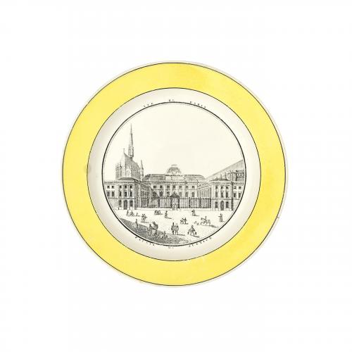 Palais De Justice French Decorative Plate