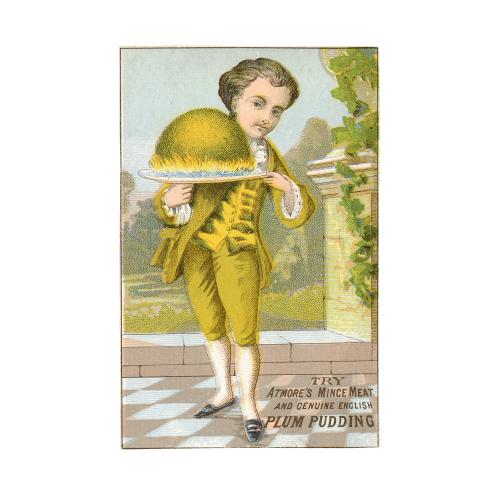 Plum Pudding Trade Card