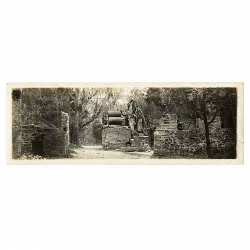 ruins of dunlawton sugar plantation mill port orange, Florida